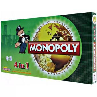 Jual Monopoly 4 In 1 All New International - Mainan Monopoly Murah