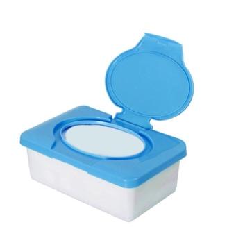 Moonar plastik basah tisu case Real jaringan case bayi tisu kotak rumah jaringan pemegang aksesoris