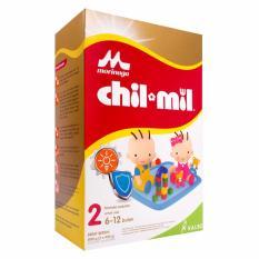 Morinaga Chil Mil Regular Tahap 2 Box - 2x400gr