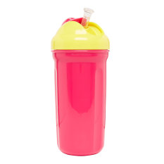 Mothercare Insulated Straw Cup 320ml - Pink
