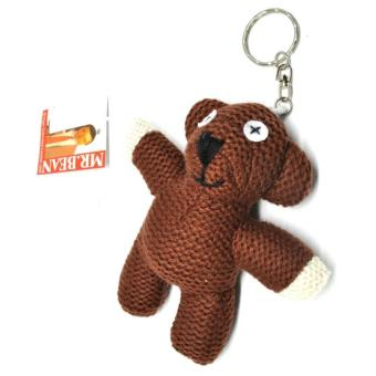 Harga Mr. Bean Teddy Bear Plushy Key Chain / Boneka Gantungan Kunci