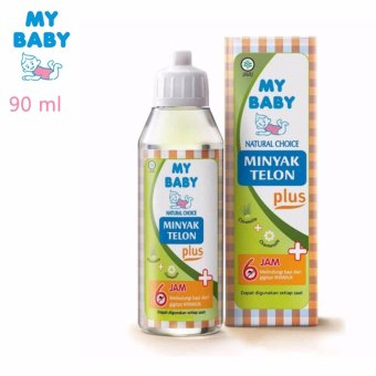 My Baby Minyak Telon Plus 90 ml - 1 Pcs