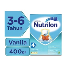 Nutrilon 4 Susu Pertumbuhan Vanila - 400gr