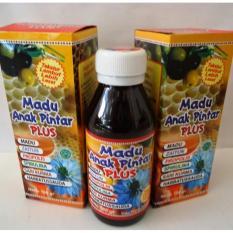 paket 4 botol madu anak pintar 180 gr