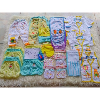 Paket lengkap perlengkapan bayi perempuan/Newborn(baru lahir)hemat, murah & super lengkap