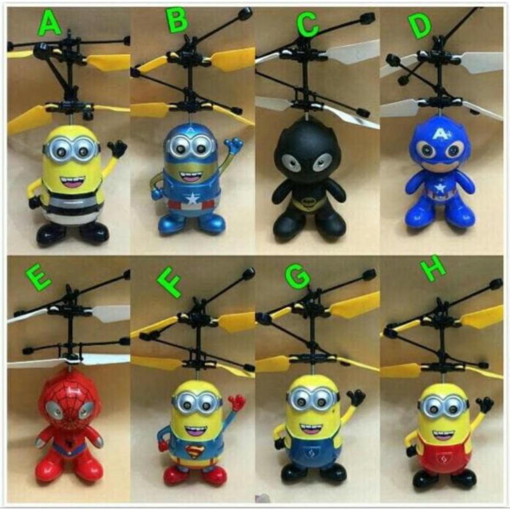 ... Paling Laku Flying Toy Mainan Anak Terbang Karakter - Random ...