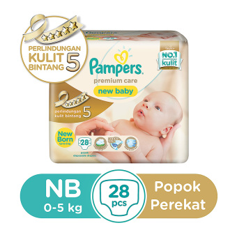 Pampers Popok Perekat NB-28 Premium Care