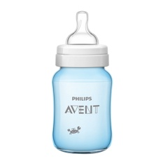 Philips Avent SCF573/14 CLASSIC+ PP 9OZ DECO P&B SINGLE - Crab