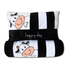 pillow Set Bantal Guling Happy Day Sapi