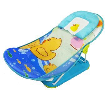 Pliko NEW Deluxe Baby Bather - Kursi Mandi Lipat Bayi - Biru