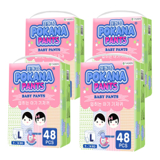 Pokana Baby Pants Super Jumbo Pack - L48 isi 4