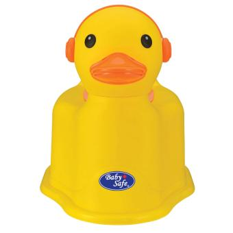 Potty Training Baby Safe Duck Potty - Kuning