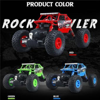 Powerfull Rock Crawler Climber 2.4 Ghz 1/18 - 5
