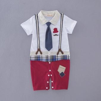 Pria musim panas untuk pergi keluar pakaian bayi bayi Romper
