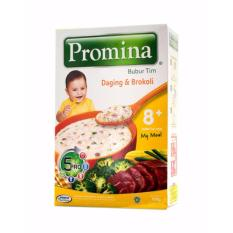 Promina Bubur Tim 8+ Daging Dan Brokoli - 100gr