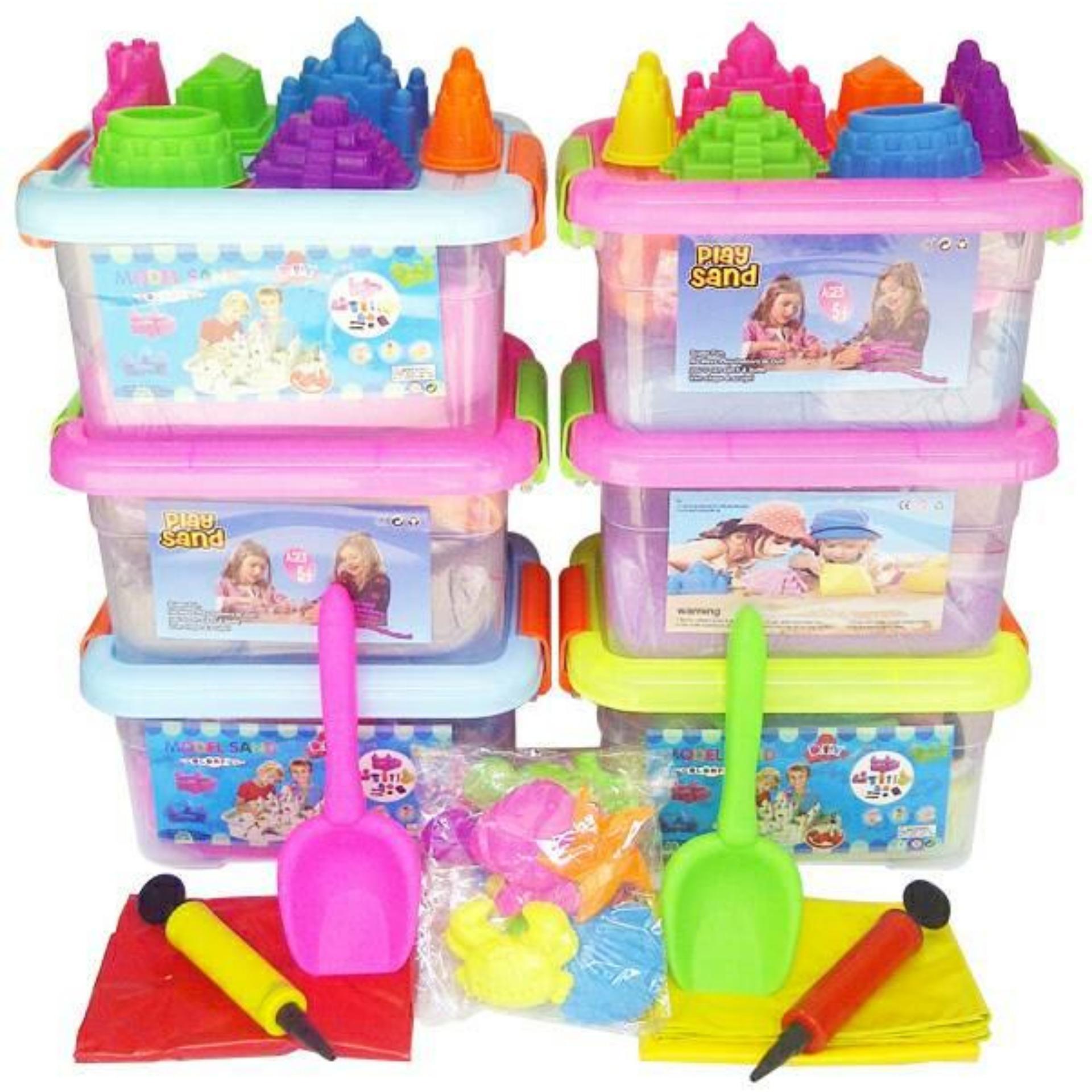 Flash Sale Promo Termurah Mainan Pasir Kinetik Super Jumbo 2 Kg Kinetic Play Sand