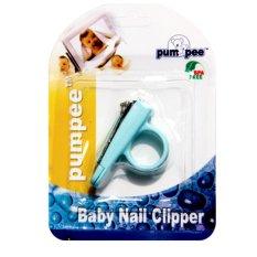 Pumpee Baby Nail Cliper Toska - Gunting Kuku Bayi Biru