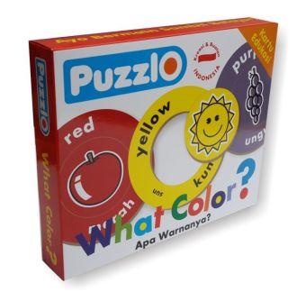 Puzzle Edukasi Puzzlo What Color - 2