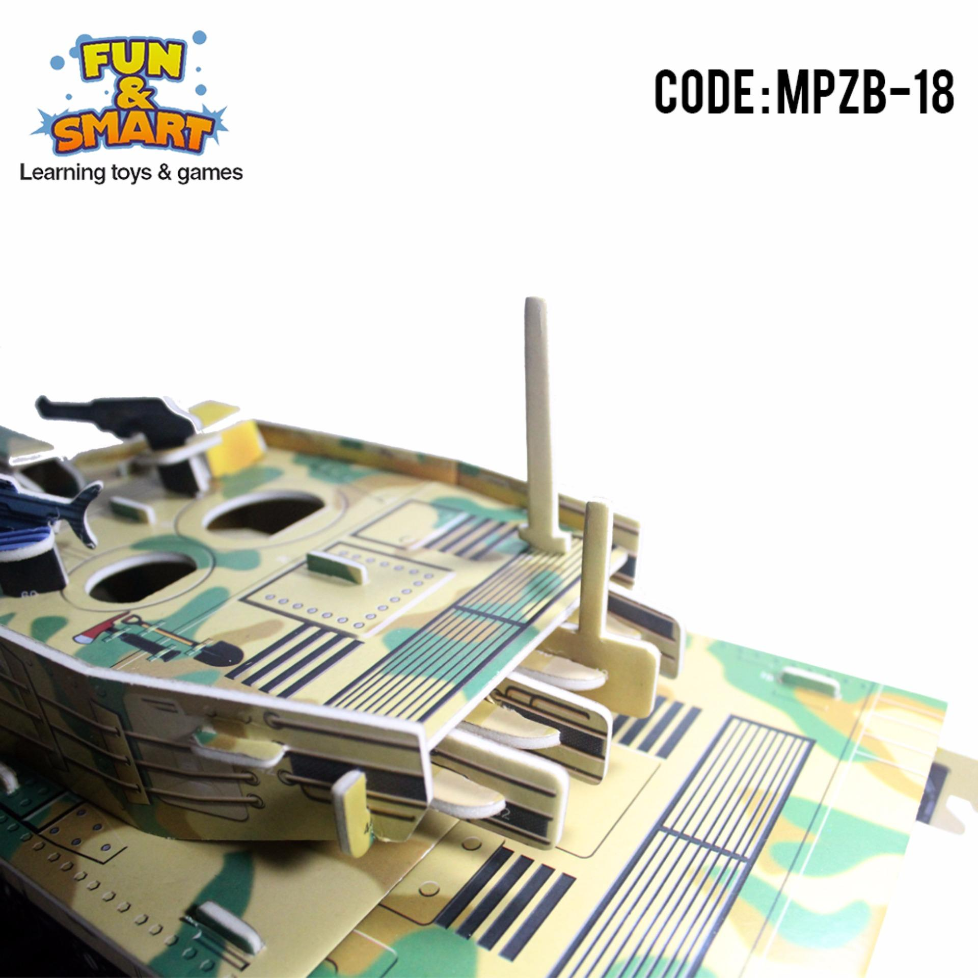 Puzzle Super 3D Battle Tank - Mainan Edukatif - MPZB 18 ...