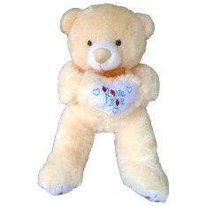 Raja Boneka Boneka Teddy Bear Besar Cream