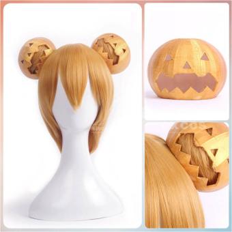 DISKON Raja Halloween Halloween labu wig MURAH