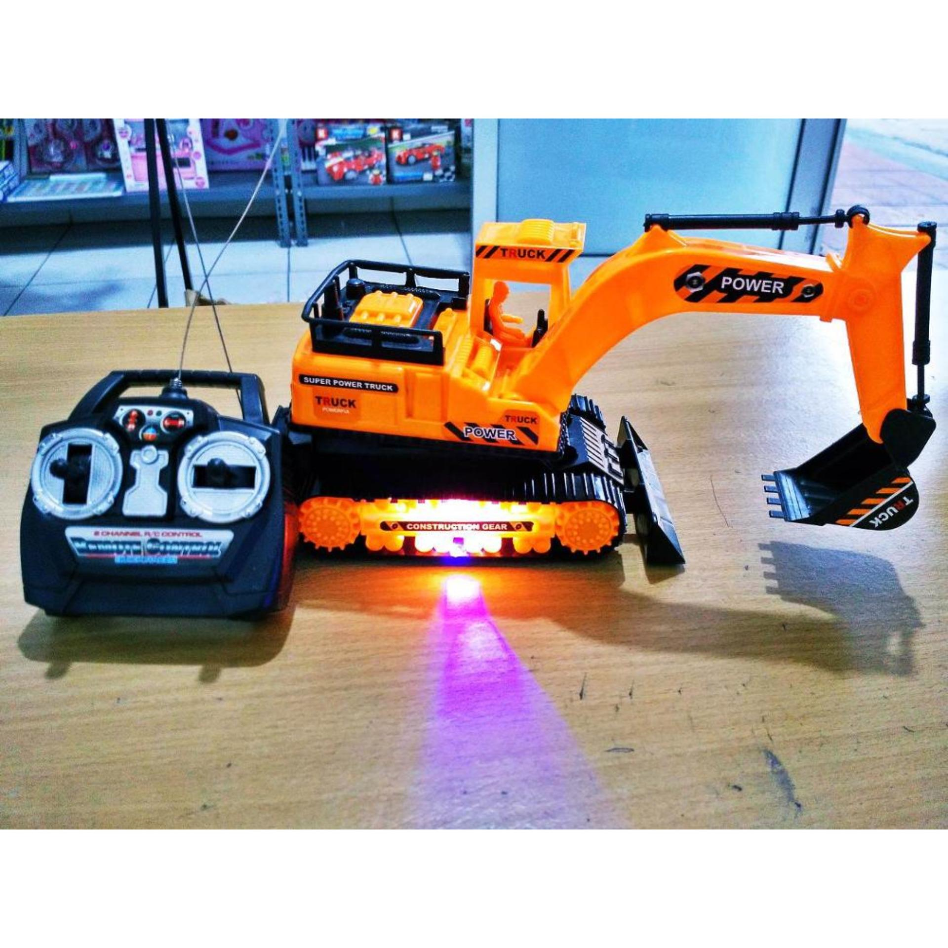 ... Rc Excavator Rc Construction Super Power Truck