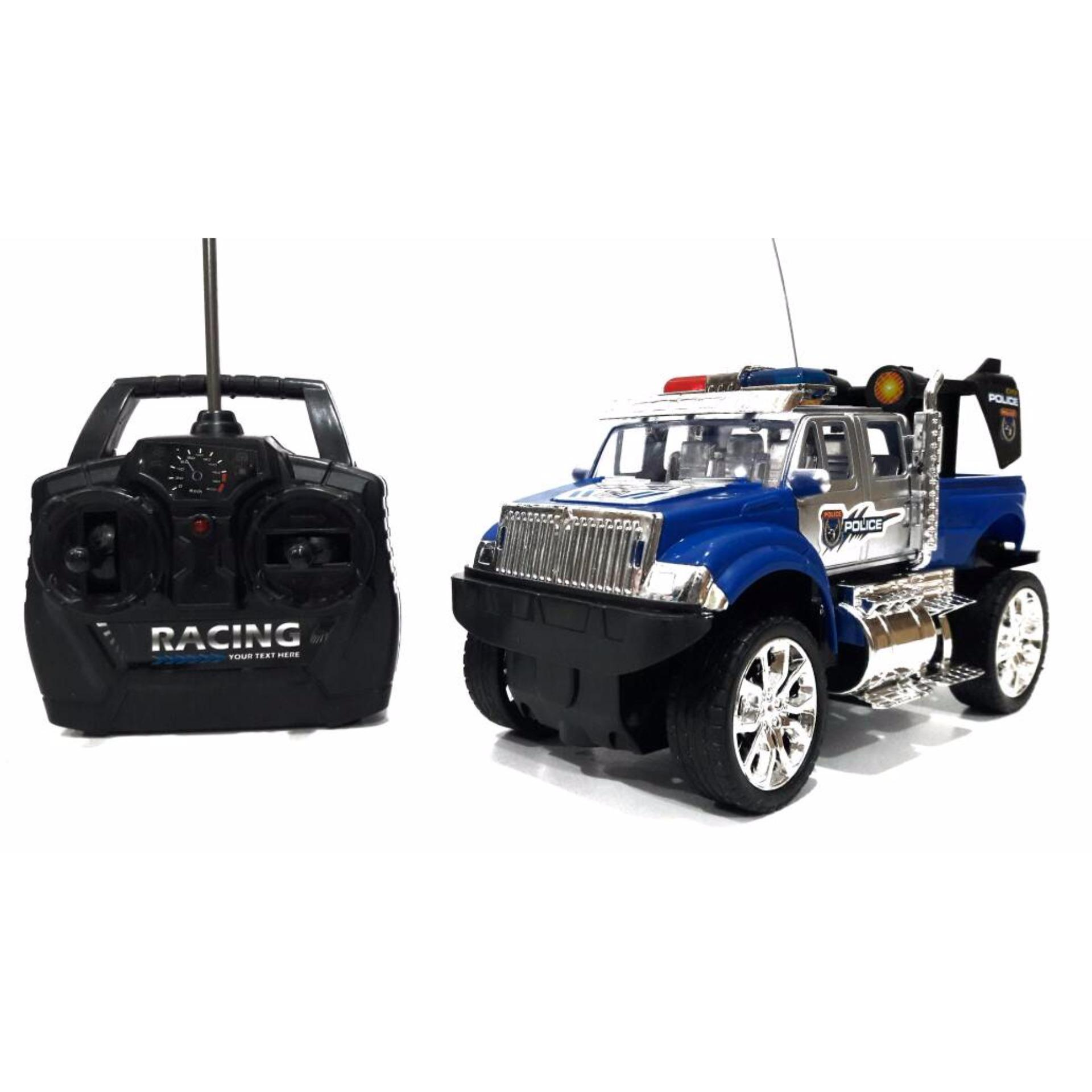 Rc Mobil Police Jeep ...