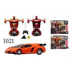 RKJ Mainan Anak RC Mobil Remot Transformer Robot 1021 - Warna Random