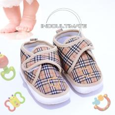 Sepatu bayi/Sepatu Baby/ SEPATU BAYI BY SY-01-D BROWN