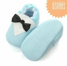 Sepatu Prewalker Bayi Tuxedo Blue Tosca Uk 11