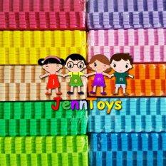 SET (1 pack isi 2 x 10)  Evamat - Polos / Matras / Tikar / Karpet / Puzzle Alas Lantai Evamat - Light Green