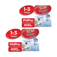 SGM Eksplor PHPRO 1-3 Tahun 400g - Bundle 2 Box