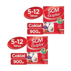 SGM Eksplor Presinutri 5+ Susu Pertumbuhan - Cokelat - 900gr - Bundle isi 2 Box
