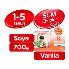 SGM Eksplor Soya 1-5 tahun - Vanila - 700g