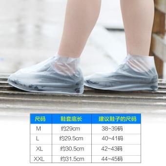Shishang tergelincir tebal bawah tahan air sepatu anak-anak hujan sepatu