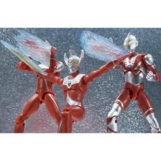 SHODO ULTRAMAN Taro / Zoffy VS3 Action Figure Bandai Ori Japan - VR6YD9