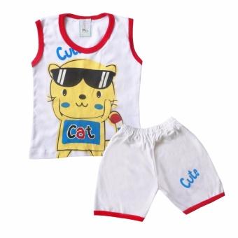 Setelan Anak Katun Sejuk Grodir Referensi Daftar Harga Terbaru Source · Skabe Baju Anak Bayi Putih Singlet Stelan Kaos 2085 Merah