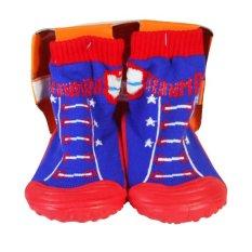Skidder Sepatu Bayi Motif Black Kitty Shoes Uk19 Cek Harga Source Skidder .