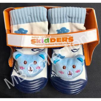 ... Skidder Sepatu Bayi Sepatu Karet Bayi Skidder Sepatu MotifBoneka Koala Biru Navy Uk 23