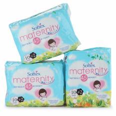 Softex Paket Hemat Maternity Pembalut Bersalin 45cm 10 +2 pcs - 3 pak - SML007