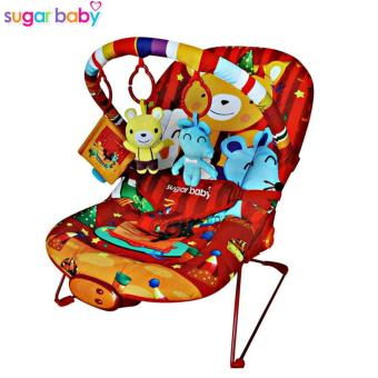 Sugar Baby Bcr30004 Bear And Friends Baby Bouncer - Ayunan Bayi (Merah)