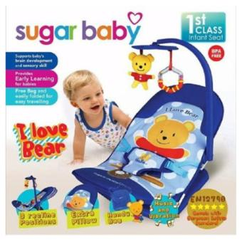 Sugar Baby Infant Seat Bouncer - Biru
