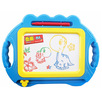 Sunking Magnetic Colourful Sketching Drawing Writing Board for Kids(Blue) - intl