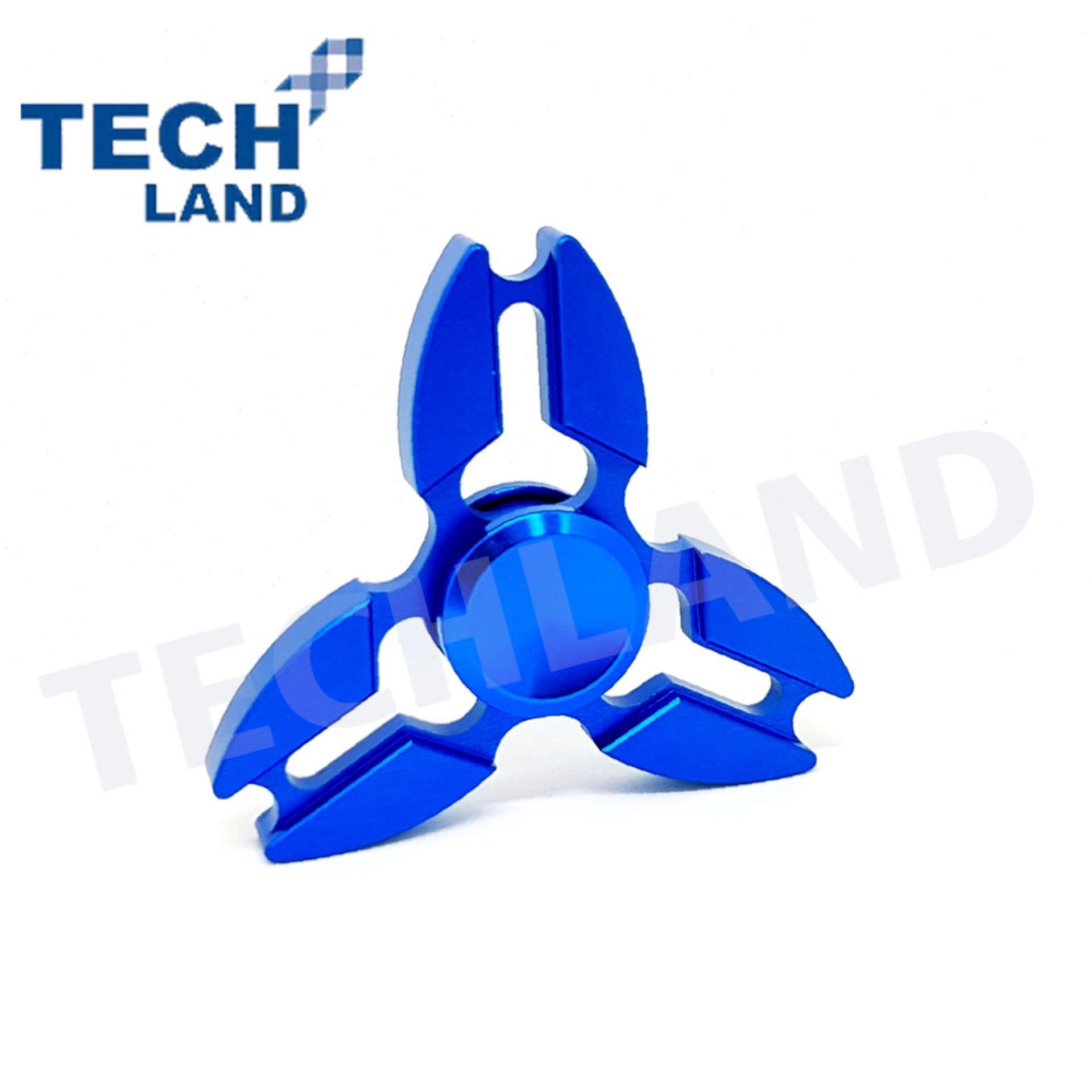 Fidget Spinner Hand Premium Metal Neon Techland Alumunium Triangle Bearing Keramik Ceramic Toys Quality Alloy Hybrid