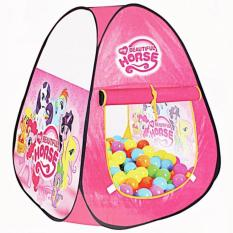 Tenda Segitiga Motif Little Pony Pink