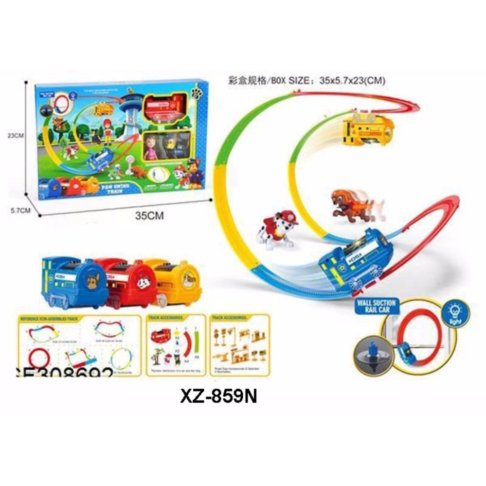 Starwego Mainan Kereta Track Racer 661j 4 Daftar Harga Terlengkap Otoys Train Cartoon Api Pa 8670 Flash Sale Tm Anak Dog Patrol Batere Xz 859n