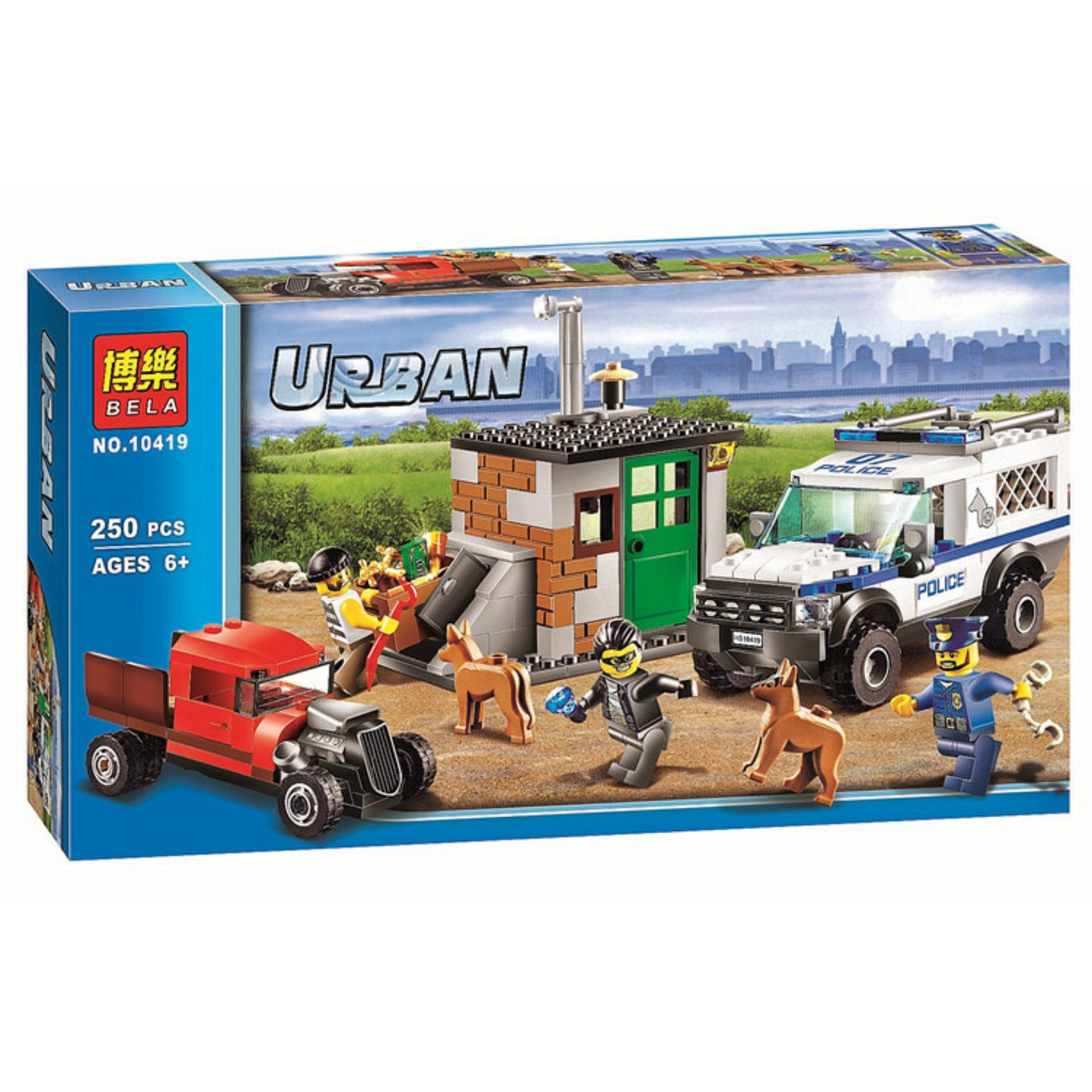 Tomindo Block Lego Bela Urban Police Series 10419