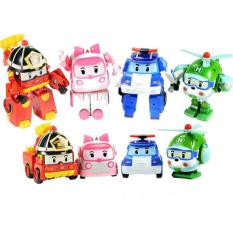 Tomindo Robocar Poli - 1 set 4 pcs (transformable)
