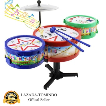 Tomindo Toys Musikal Drum Band Set Mini