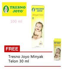 Tresno Joyo Minyak Telon 100 Ml (Free Minyak Telon 30 Ml)